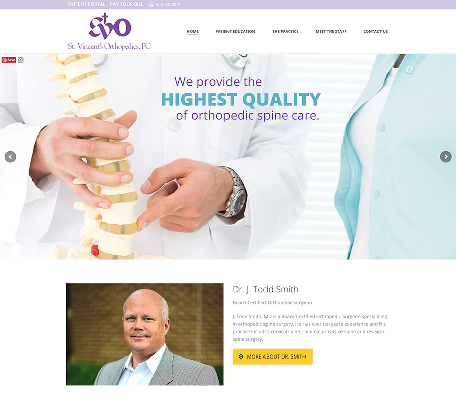 St. Vincent's Orthopedics Spine Center